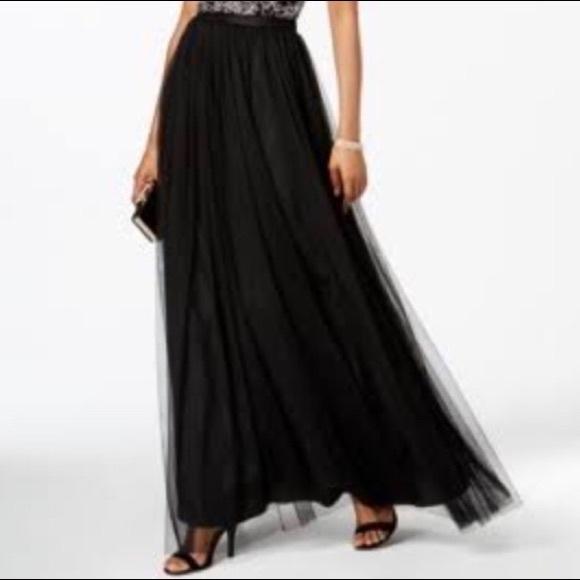 Adrianna Papell Black Skirt